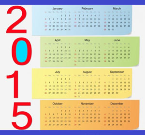 Выберите календарь на 2015 год который